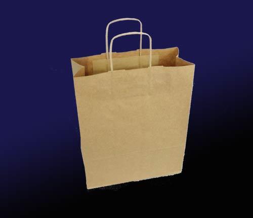 torby papierowe brązowe