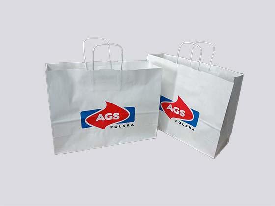 torebki papierowe z nadrukiem dla butików