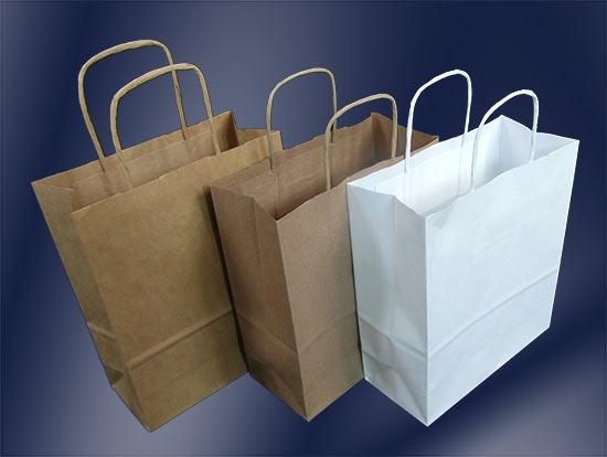 torby papierowe bez nadruku