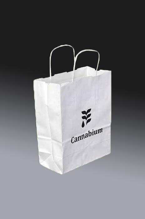 torby papierowe z nadrukiem 1 kolor