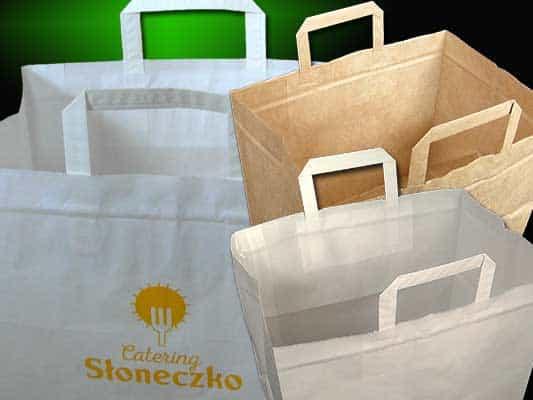 torby papierowe dla gastronomii